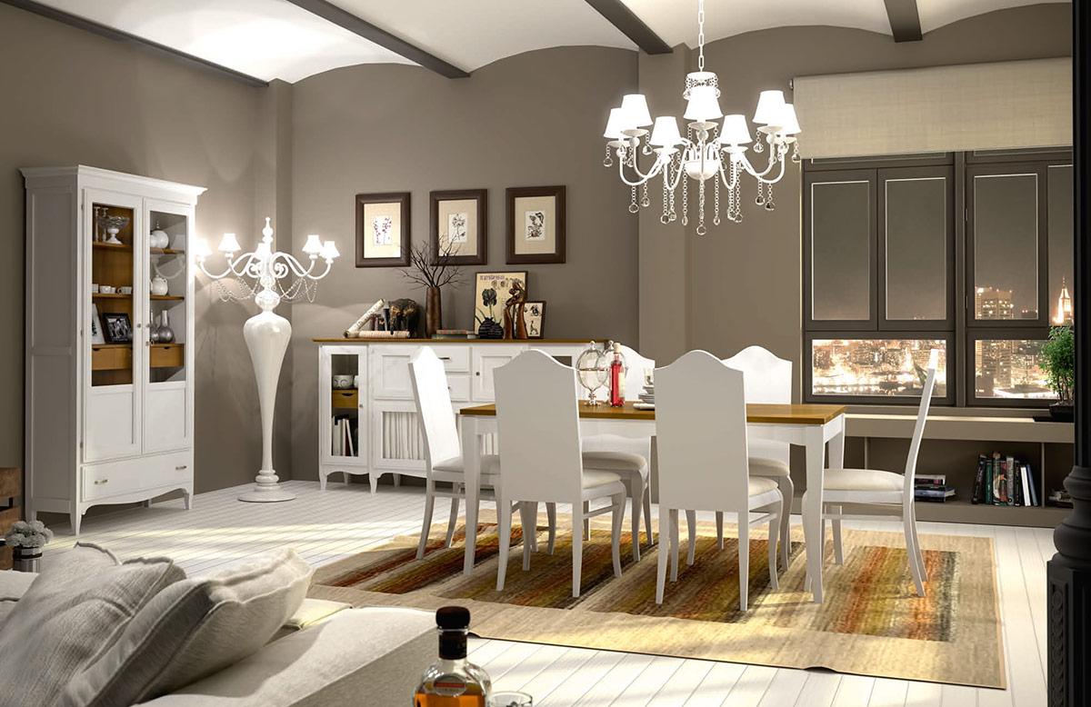 Muebles santa clara - Muebles estilo rustico moderno ...